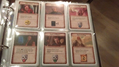 A Game Of Thrones LCG Alt Art Melee Cards World Championship 2013