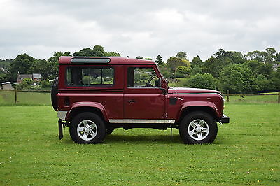 Land Rover Defender 90 TD5 - County Station Wagon - Very Low Mileage