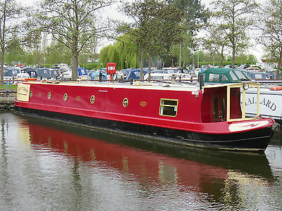 60ft Narrowboat built by Liverpool Boats in 2002