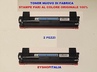 2 X Toner Nero Brother Mfc1910W Tipo Tn1050 Originale Ink Cartridge