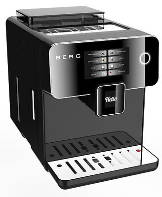 BERG Toccare Uno Pro one touch automatic bean to cup coffee machine. RRP £695.