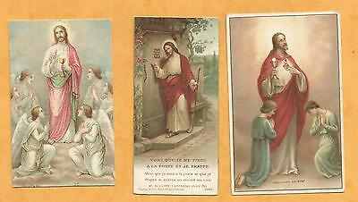 Lot 3  Images Pieuses Holy Card Communion Lc2