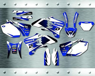 "YAMAHA WR250F-450F 2005-2006  ""New"" Stickers Graphics Full Kit"