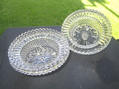 Victorian Glass Clarke's Fairy Lamp Bases Cricklites As Is