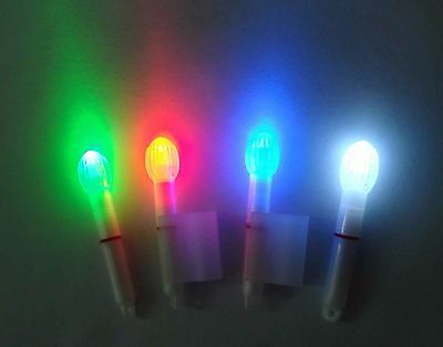 Fishing Tackle Hut Ltd Led Rod Tip Lights With Lithium Batteries (No Holder)