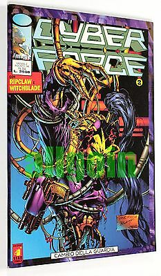 IMAGE n. 34 CYBERFORCE 2 Star Comics 1996 RIPCLAW WITCHBLADE