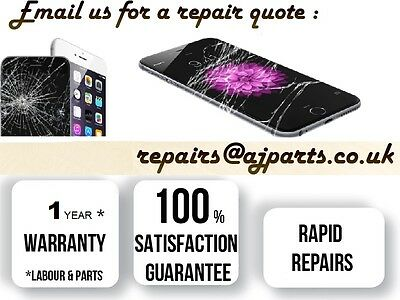 """iPhone 5S A1518 4"""" Broken Black LCD Touch Screen Repair Replacemnt Service in UK"""