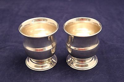 Pair Of Carl Poul Petersen Sterling Silver Cigarette Holders - Tobacciana