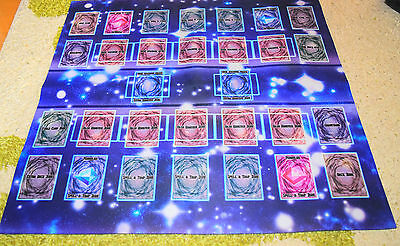 Rubber PlayMat (for Fight) Link Summon Extra Monster Zone Yu-Gi-Oh
