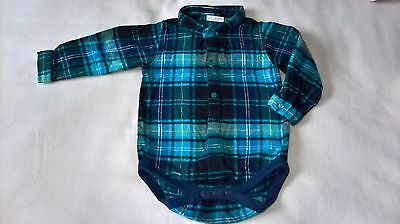 Gorgeous Baby Boys Cotton Long Sleeve Shirt (12-18 Months) - By Next