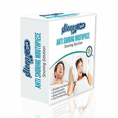 SLEEPEZz PREMIUM CUSTOMISABLE ANTI-SNORING DEVICE - BPA, PHTHALATES, TOXINS FREE