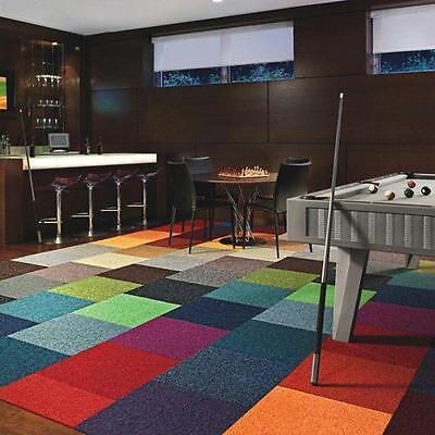 25 Carpet TILES - NEW - HEAVY DUTY  300,000 AVAILABLE -NEXT DAY DELIVERY FROM 99
