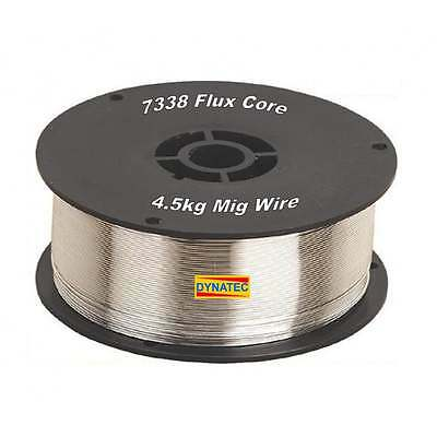 Mig Wire Gasless Flux Cored 0.8mm 4.5kg Welding Spool 7338 No Gas Welder NEW