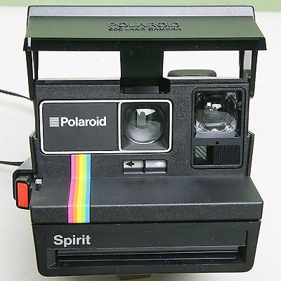 Fab Polaroid 'spirit' 600 Land Camera - Good Working Condition