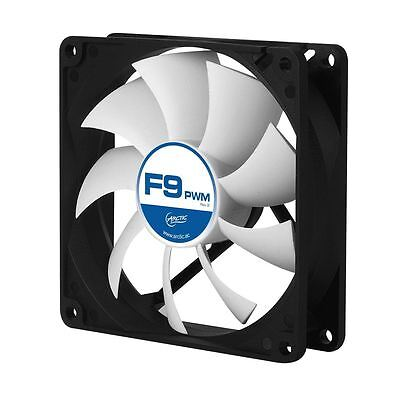 Arctic F9 PWM REV.2 92mm Quiet/Silent High Performance PC Cooling Case Fan