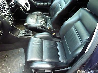 Vw  Golf Mk3 Vr6 Black Leather Interior Seat & Door Cards-Super Condition