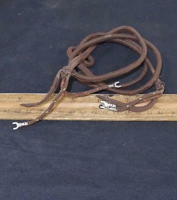 "VINTAGE 2 Wire Telephone Phone Cloth Cord 37"" LONG !!"