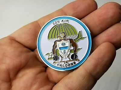 325Th Air Airborne Infantry Regiment Falcons 82Nd Challenge Coin Chutes/ Gliders
