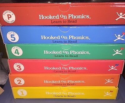 Hooked On Phonics Learn To Read Complete Set HOP Excellent Condition