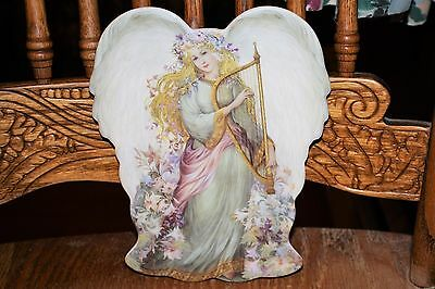1997 Bradford Exchange Serenity's Song Symphony of Angels Plate 1st Issue