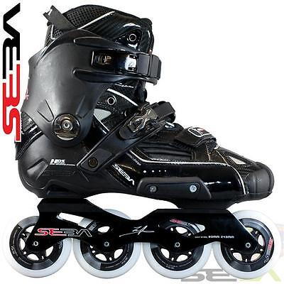 2013 Seba High Black Freeskate  Inline Skates / Rollerblades - SAVE £100
