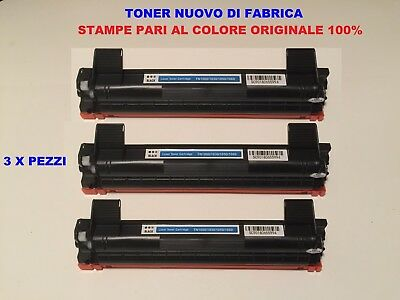 3 Toner Per Brother Dcp1610 Dcp1612  Hl1110 Compatibile Originale Tn1050