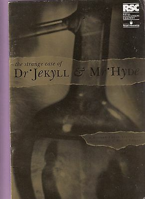 1991  Barbican Theatre Programme - DR JEKYLL and MR.HYDE - SIMON RUSSELL BEALE