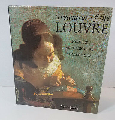 Treasures of the Lourve Book History Collections Art History A. Nave Inscribed