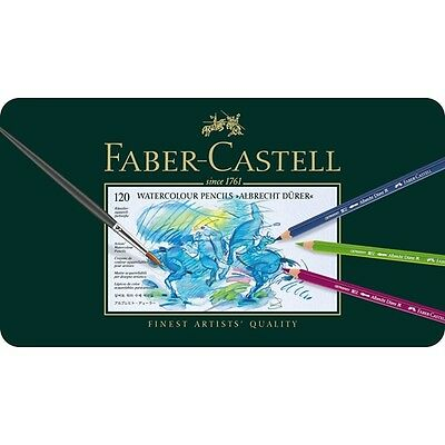 NEW, SEALED Faber-Castell Albrecht Durer 120 Set Watercolour Colored Pencils