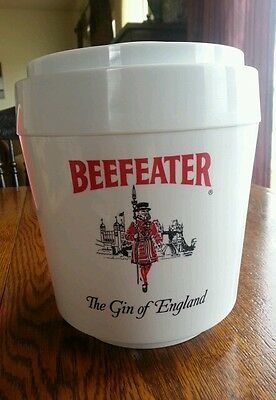 Vintage advertising sign beefeater gin ice bucket