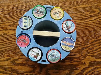 Vintage Jell-O Pictures Wheels airplanes Plane Coins 200 pcs.1960's complete!