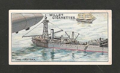 USS PATOKA  UNITED STATES NAVY MOBILE AIR SHIP BASE VESSEL 1931 original card