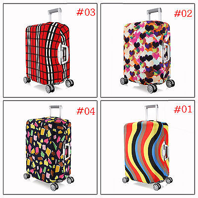 S Elastic Spandex Dustproof Protector Cover For 18''-20''Travel Luggage Suitcase