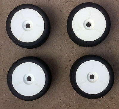 RB Concepts 1/8th RC Buggy Wheels & Tyres Mounted x4 Car Rims 17mm Hex