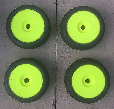 ProLine Hole Shot M3 1/8th RC Buggy Wheels & Tyres Mounted x4 Car Rims 17mm Hex