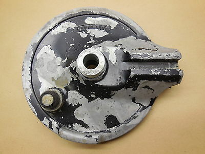 1977 Yamaha IT 400 Rear brake drum plate 77 IT400