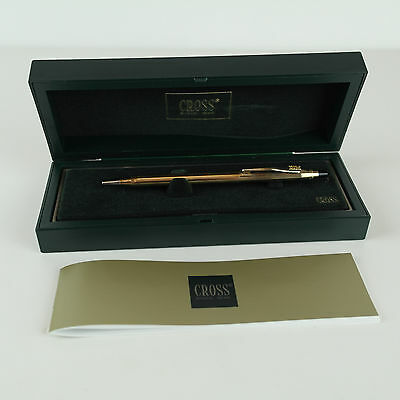 Vintage IBM Cross 10K Gold-filled Ball Point Pen with Logo on Clip IBM With Box