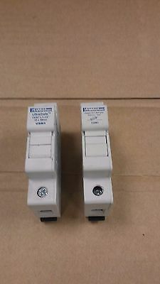 FERRAZ SHAWMUT UltraSafe USM1 Midget Fuse Holder Lot of 2