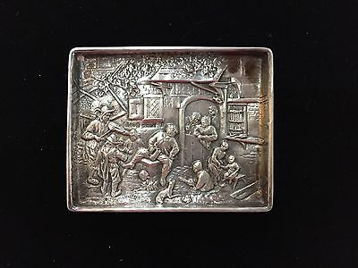 Vintage 800 Silver Germany Pin Tray