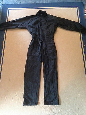Motorcycle Motorbike Wet Weather Waterproof Rain Suit One Piece Overall Large