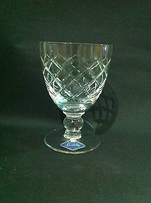 Royal Brierley Crystal Cut Glass Westminster Water goblet