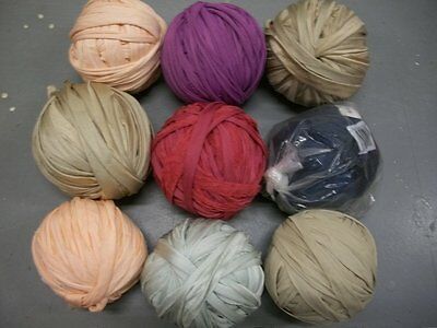 9 Nylotex Balls Yarn QualiCraft Weaving Knitting Loom Lot 3