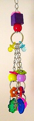 Birdtalk Bird Toys Buttons And Beads Free Foot Toy Orders Over $25
