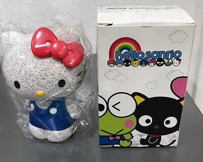 "Glitter Vinyl HELLO KITTY 3"" Figure Sanrio Loot Crate Exclusive LOOTCRATE Rare!"