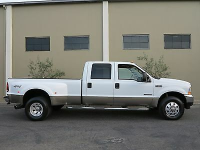 2002 Ford F-350 FREE SHIPPING NATIONWIDE! CALIFORNIA RUST FREE 7.3 F-350 7.3L Diesel 4X4 Crew Cab Long Bed Dually LARIAT EXCELLENT CONDITION!