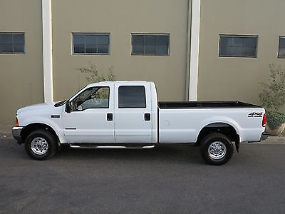 2001 Ford F-350 FREE SHIPPING NATIONWIDE! CALI OWNED! CREAM PUFF! F-350 7.3L Diesel 4X4 Crew Cab Long Bed XLT 104K Miles! MINT CONDITION! 1 OWNER!