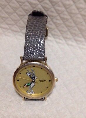 Vintage Armitron Bugs Bunny LIMITED EDIOTION COLLECTOR'S watch 1989 Warner Bros