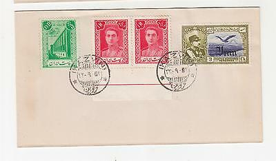 TEHERAN, 1944 various on unaddressed cover canc. Kazvin