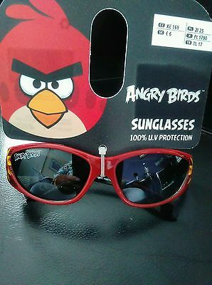 Angry Birds. SUNGLASSES 100% U. V. PROTECTION &  CE APPROVED - BAG 101