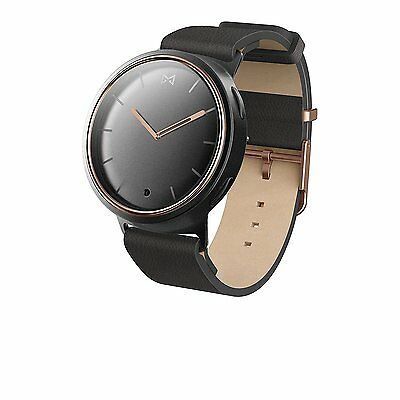 Misfit Wearables Phase Smartwatch, Black/Pink/Gold